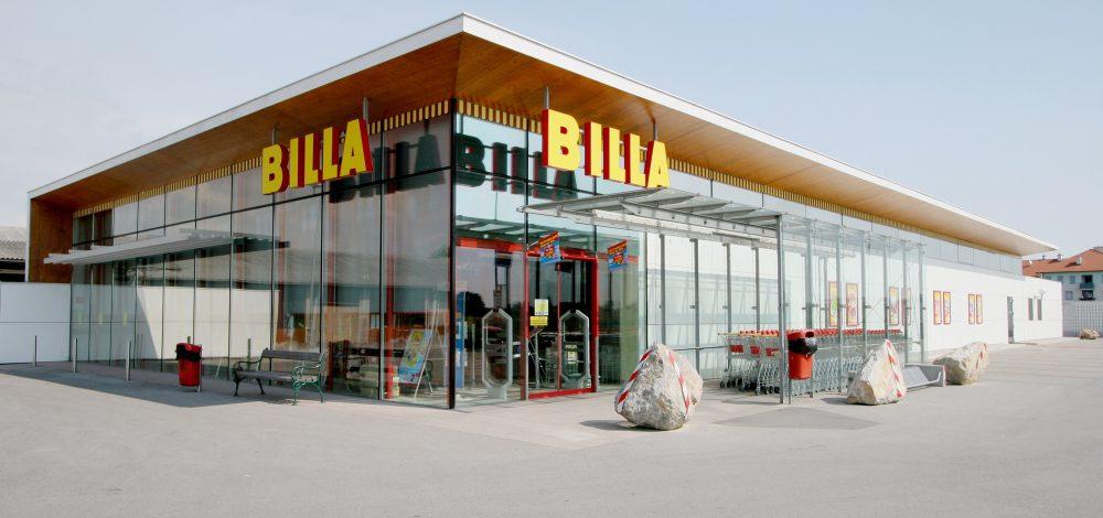 Stahl-Glas-Fassade_Billa-Markt_Niederoesterreich