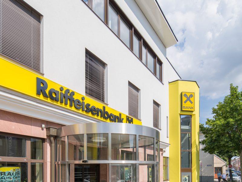 Raiffeisen Landesbank Glasfassade